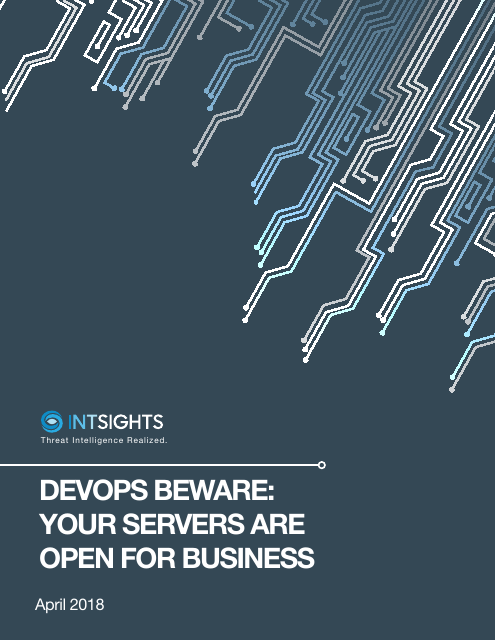 image from DevOps Beware: Your Servers Are Open For Business