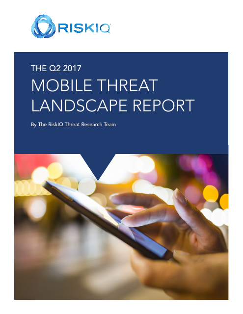 image from The Q2 2017 Mobile Threat Landscape Report