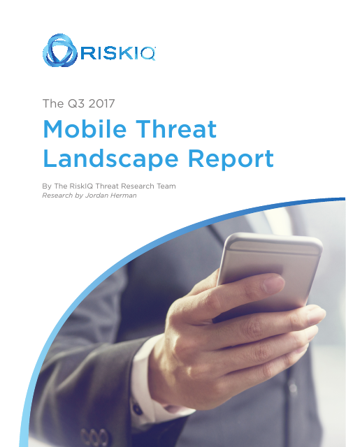image from The Q3 2017 Mobile Threat Landscape Report