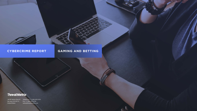 image from Cybercrime Report: Gaming And Betting