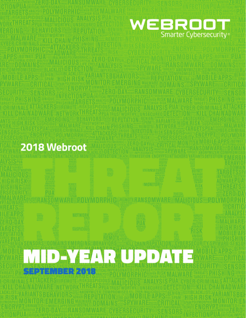 image from 2018 Webroot Threat Report: Mid-Year Update