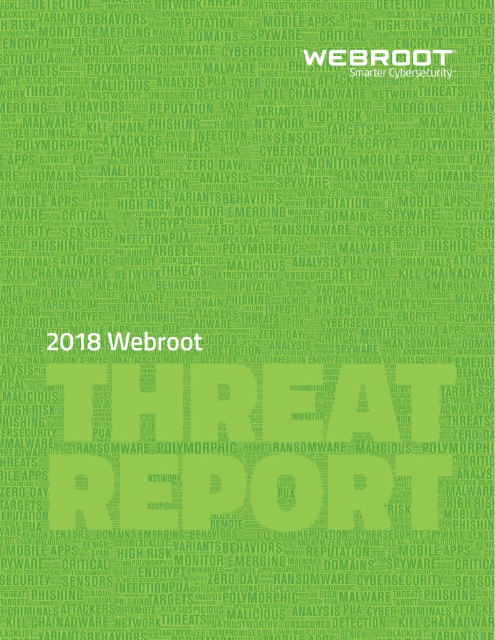 image from 2018 Webroot Threat Report