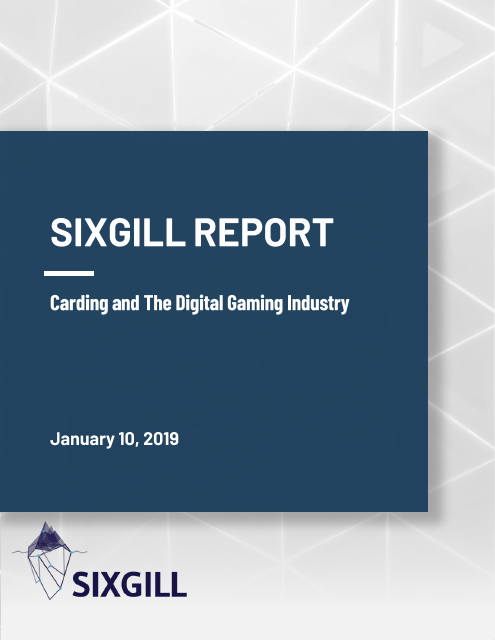 image from Carding and The Digital Gaming Industry