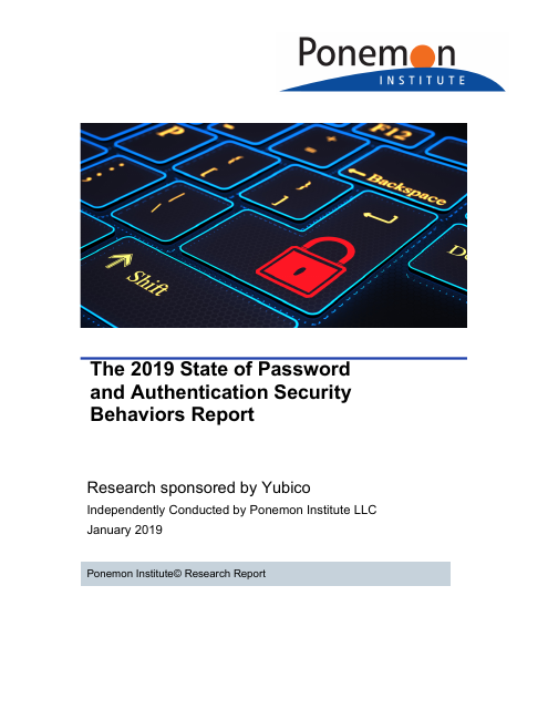 image from The 2019 State of Password and Authentication Security Behaviors Report