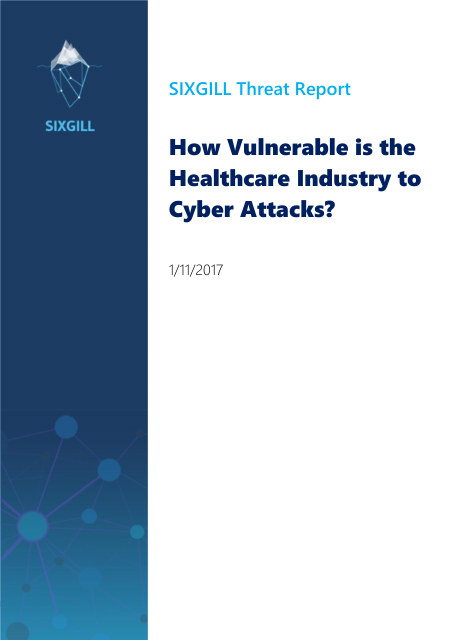 image from How Vulnerable is the Healthcare Industry to Cyber Attacks