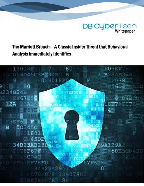 image from The Marriott Breach - A Classic Insider Threat that Behavioral Analysis Immediately Identifies