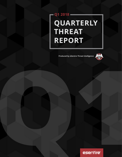 image from Q1 2018 Quarterly Threat Report
