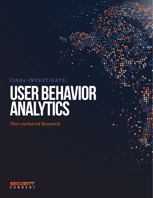 image from CISO's Investigate: User Behavior Analytics