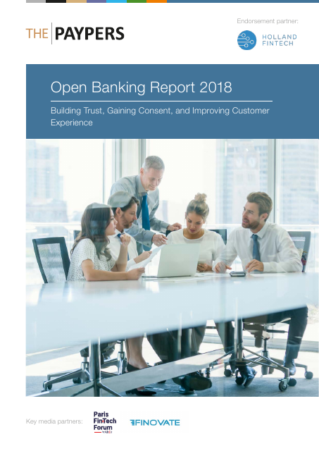 image from Open Banking Report 2018