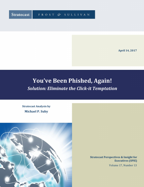 image from You've Been Phished, Again! Solution: Eliminate the Click-it Temptation