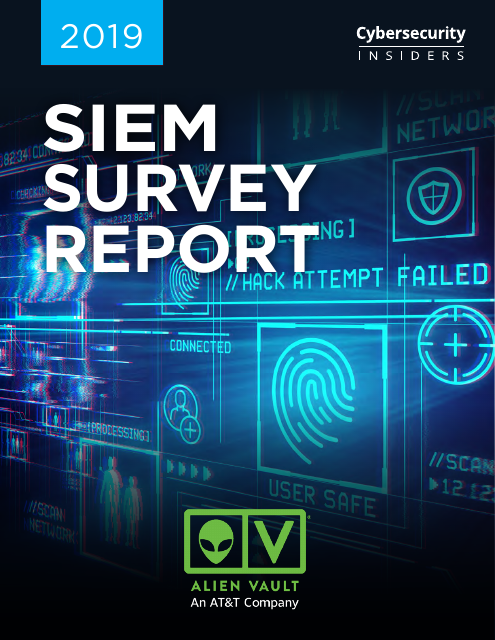 image from 2019 SIEM Survey Report