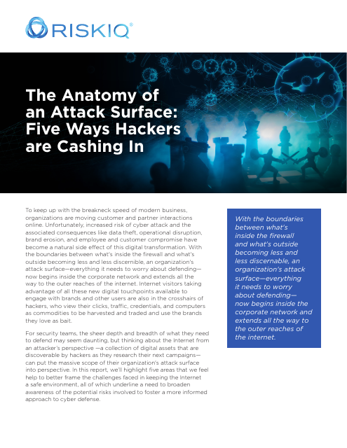 image from The Anatomy of an Attack Surface: Five Ways Hackers are Cashing In