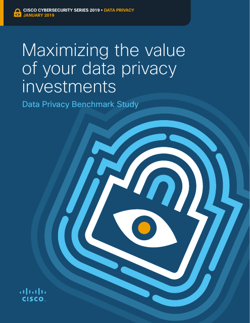 image from Cisco Cybersecurity Series January 2019: Maximizing the value of your data privacy investments