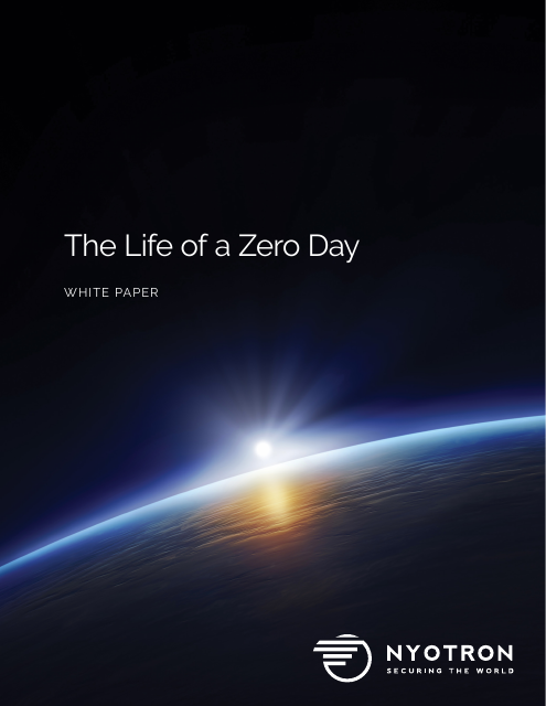 image from The Life of a Zero day