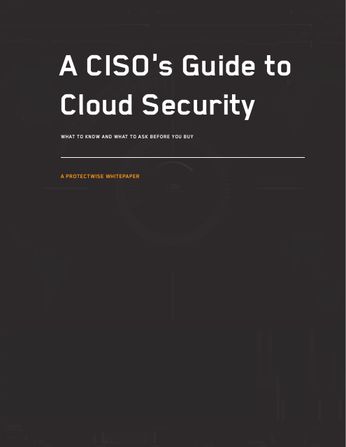 image from A CISO's Guide to Cloud Security