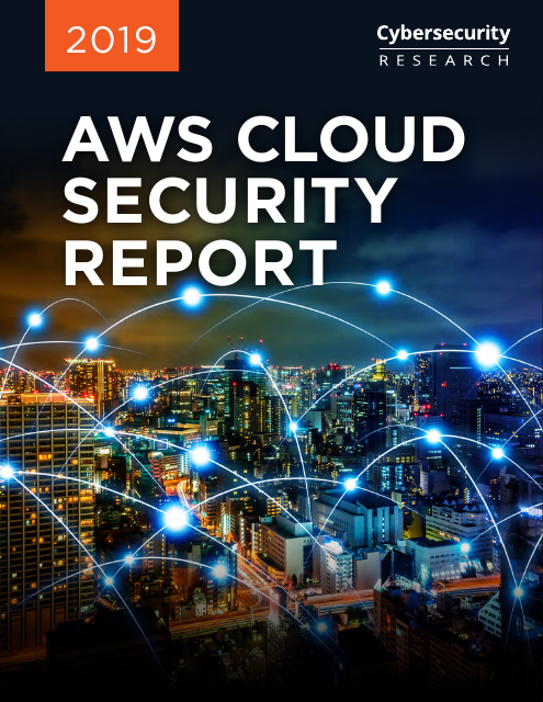 image from 2019 AWS Cloud Security Report