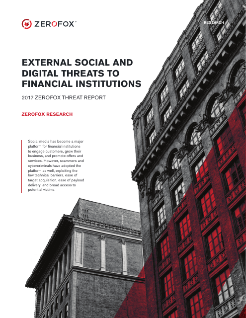 image from External Social And Digital Threats To Financial Institutions
