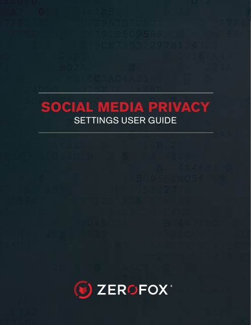 image from Social Media Privacy: Settings User Guide