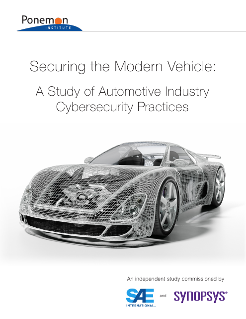 image from Securing The Modern Vehicle: A Study of Automotive Industry Cybersecurity Practices
