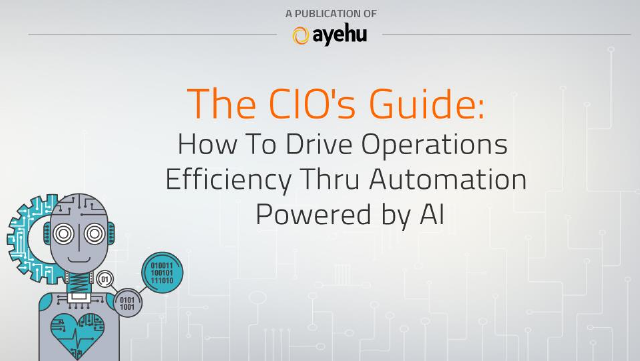 image from The CIO's Guide: How To Drive Operations Efficiency Thru Automation Powered by AI