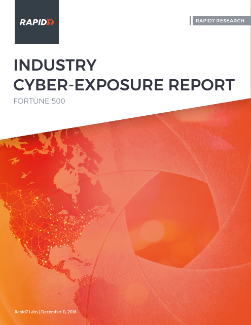image from Industry Cyber-Exposure Report: Fortune 500