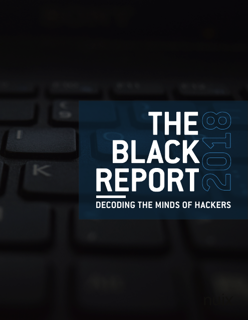 image from The Black Report 2018: Decoding The Minds Of Hackers