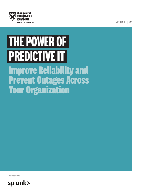 image from The Power of Predictive IT