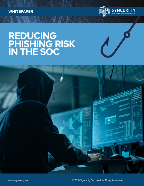 image from Reducing Phishing Risk In The SOC