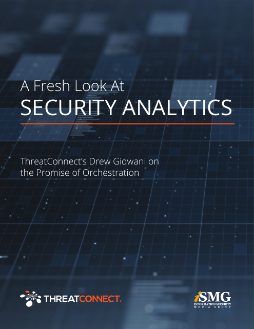 image from A Fresh Look At Security Analytics