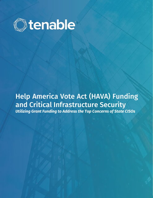 image from Help America Vote Act (HAVA) Funding and Critical Infrastructure Security