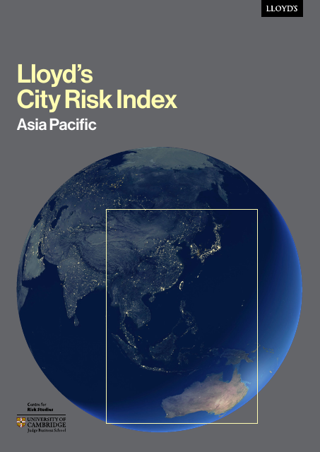 image from Lloyd's City Risk Index: Asia Pacific
