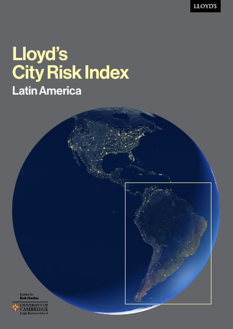 image from Lloyd's City Risk Index: Latin America