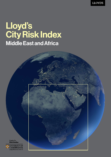 image from Lloyd's City Risk Index: Middle East and Africa