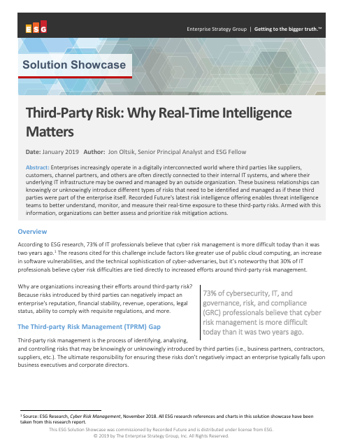 image from Third Party Risk: Why Real-Time Intelligence Matters