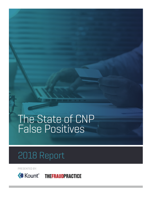 image from The State of CNP False Positives: 2018 Report