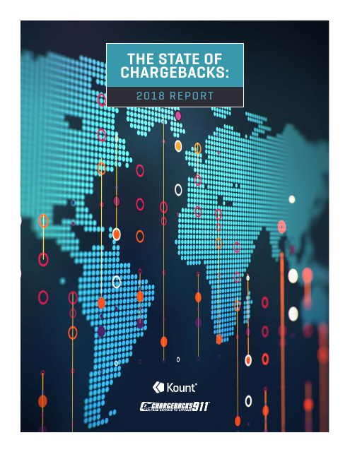 image from The State Of Chargebacks: 2018 Report