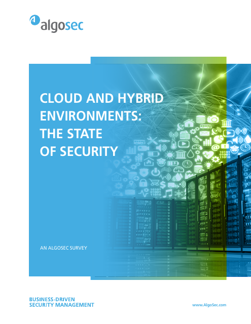 image from Cloud And Hybrid Environments: The State Of Security