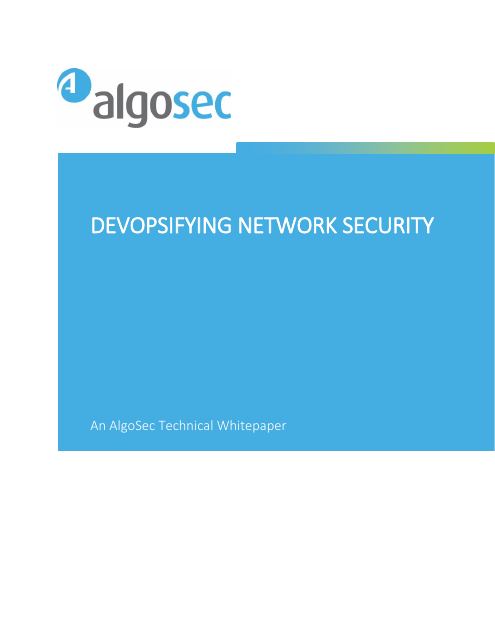 image from Devopsifying Network Security