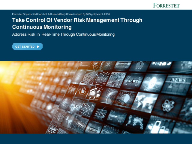 image from Take Control Of Vendor Risk Management Through Continuous Monitoring