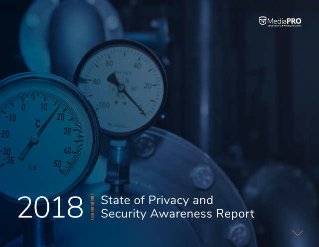 image from 2018 State of Privacy and Security Awareness Report