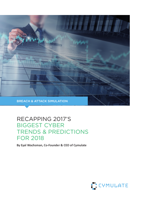 image from Breach & Attack Simulation: Recapping 2017's Biggest Cyber Trends & Predictions For 2018