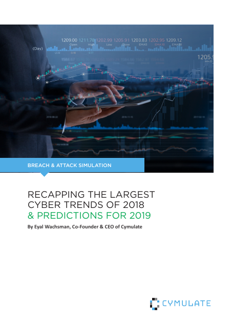 image from Breach & Attack Simulation: Recapping The Largest Cyber Trends of 2018 & Predictions For 2019