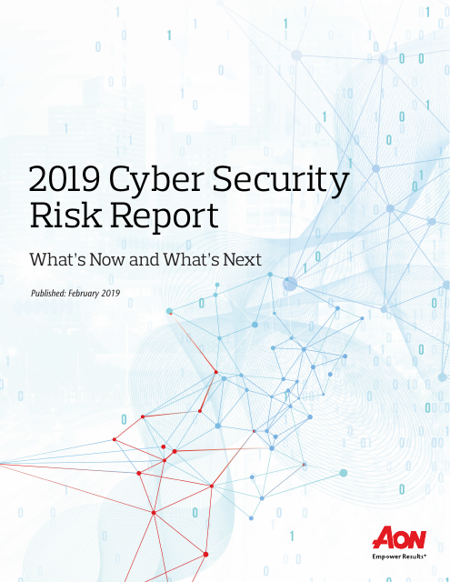image from 2019 Cyber Security Risk Report