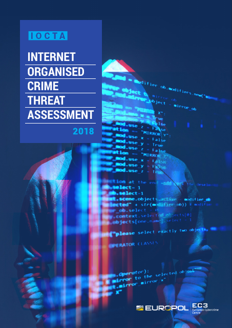 image from Internet Organised Crime Threat Assessment 2018