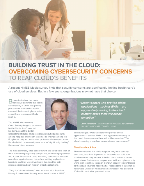 image from Building Trust In The Cloud: Overcoming Cybersecurity Concerns To Reap Cloud's Benefits