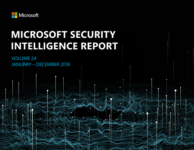 image from Microsoft Security Intelligence Report