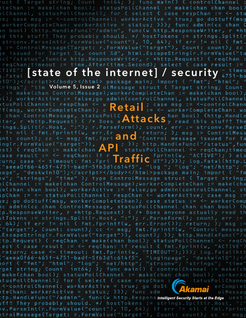 image from State of the Internet/Security Retail Attacks and API Traffic