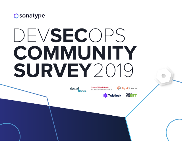 image from DevSecOps Community Survey 2019