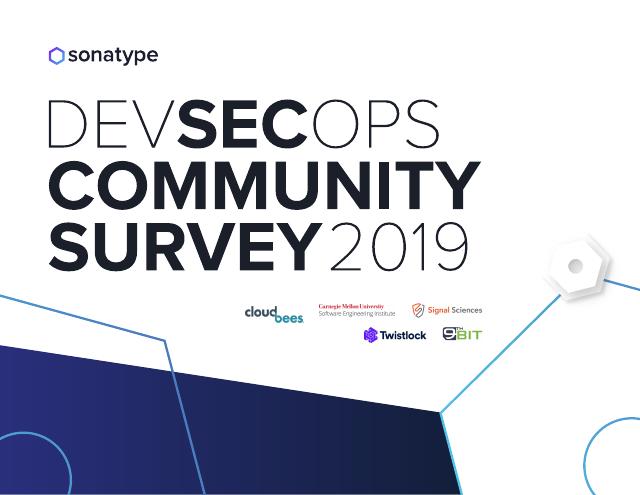 image from DevSecOps Community Survey 2019