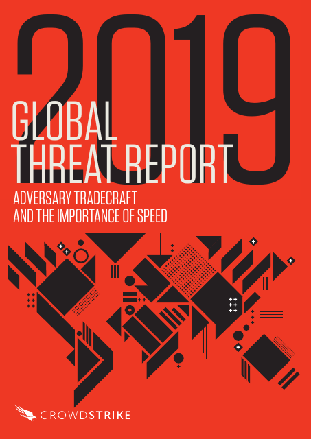 image from 2019 Global Threat Report - Adversary Tradecraft And The Importance Of Speed